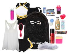 """What's in my cheer bag// Camp"" by lizzielane33 ❤ liked on Polyvore"