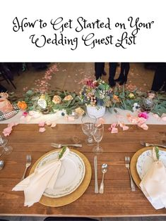 Creating a guest list can be one of the most stressful parts of planning a wedding. Ask any newly-engaged couple, and you'll quickly learn that no one really has fun creating the guest list for their wedding. Wedding Guest List, Plan Your Wedding, Wedding Tips, Wedding Reception, Wedding Venues, Wedding Planning, Wedding Day, Grass Valley, Reception Decorations