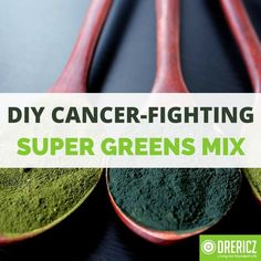 This amazing cancer-fighting super greens mix is an adaption from the recipe my mentor Enoch DeBus put together while he was fighting & beat cancer. Natural Cancer Cures, Natural Cures, Healthy Smoothies, Smoothie Recipes, Beat Cancer, Super Greens, Cancer Facts, Cancer Treatment, Home Remedies