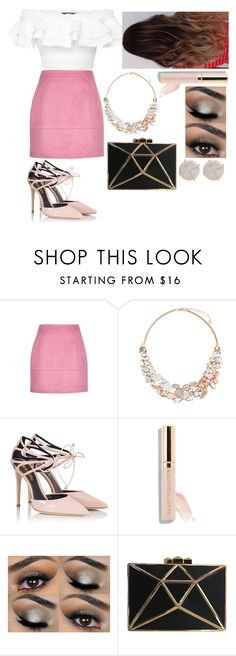 """Pink"" by mollytristan13 ❤ liked on Polyvore featuring Alexander McQueen, Accessorize, Fratelli Karida, Beautycounter and Melissa Joy Manning"