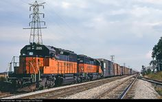 RailPictures.Net Photo: MILW 205 Chicago, Milwaukee, St. Paul & Pacific EMD SD40-2 at Watertown, Wisconsin by Tom Farence