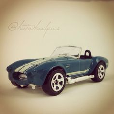 """Shelby Cobra 427 S/C - 2011 Hot Wheels """"Muscle Mania"""" series #hotwheels 