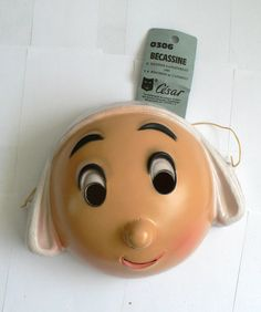 masque becassine 1980