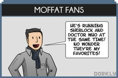 The 12 Types of Doctor Who Fans (... I'm a Moffat Fan)