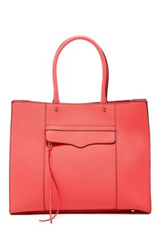 78ab45f4c Large Mab Saffiano Leather Tote by Rebecca Minkoff on @nordstrom_rack  Rebecca Minkoff Tote, Red