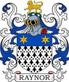 Raynor Family Crest and Coat of Arms