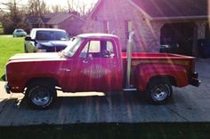 1979 Dodge Lil' Red Express: Big Red - http://barnfinds.com/1979-dodge-lil-red-express-big-red/