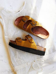 ee87016b6dfa Sixty Seven Thermae Footbed at Free People Clothing Boutique Birkenstock  Sandals