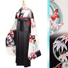 ゴージャス袴R272 Traditional Kimono, Traditional Fashion, Kimono Japan, Japanese Kimono, Anime Kimono, Trendy Outfits, Fashion Outfits, Japanese Outfits, Doraemon