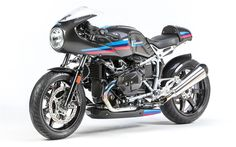 Download wallpapers BMW R9T Racer, 4k, 2017 bikes, superbikes, new R9T Racer, german motorcycles, BMW