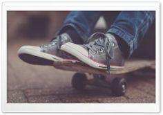 Skateboarder HD Wide Wallpaper for Widescreen