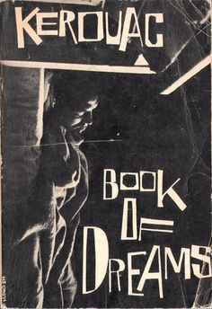 Book Of Dreams - Jack Kerouac #book #cover #design