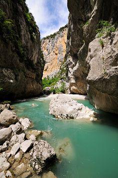 Canyon - Verdon Gorge