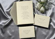Wedding Invitations by Social Graces, LLC 100 invitations for $109.90. We will help you word them. Social Graces, LLC located in Mendham, NJ 973-543-2145