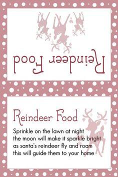 Reindeer Food Med Red Dots More