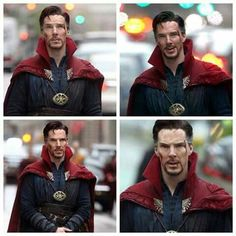 Dr.Strange... He looks dashing ,can't wait to see this