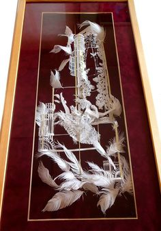 3D paper cut by SouMa