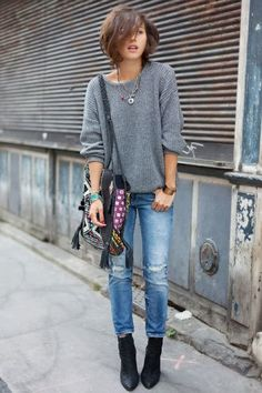 love the oversized sweater
