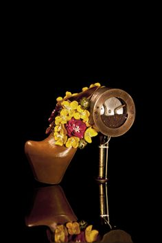 Masaya Kushino insanely cook steampunk shoes