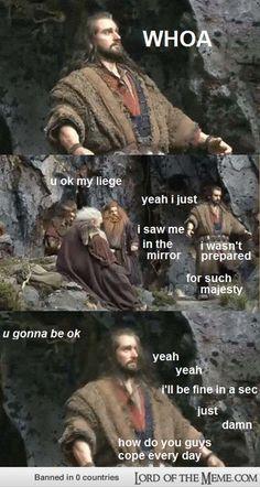 Majestic Thorin..hahaha