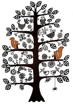 Ruth Green Design - whimsical Skandi-style limited edition screenprints