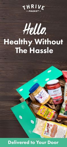 Looking for the best-selling organic foods and healthy products? At Thrive Market, we're committed to your good health and well-being. Shop only the best brands and products at up to 50% off retail everyday! See how much you can save today!