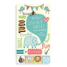 Kate Sutton Mini Sticky Notes 3-Pack  [G-9780735328419] - $17.00 : Manhattanite