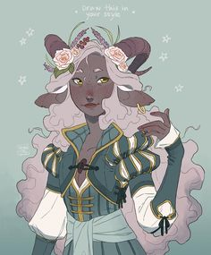 It's season so here's mine for this summer, Sunmi~ 🐐 The rules are simple as usual: Draw this character in your… Fantasy Character Design, Character Creation, Character Design Inspiration, Character Concept, Character Art, Character Ideas, Dungeons And Dragons Characters, Dnd Characters, Fantasy Characters