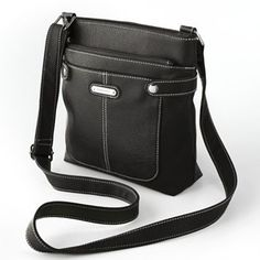Black crossbody purse. Similar to what I have now. Not too big but not too small.