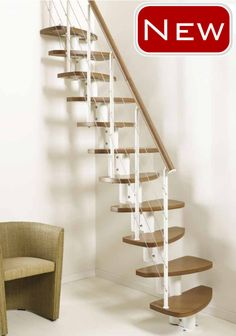 Fascinating Space Saving Stairs Design Ideas For Your Home for Narrow Spiral…