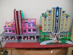 Legos Art Deco buildings