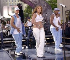 Pin for Later: You Won't Believe Who Some of Your Favourite Artists First Opened For Jennifer Lopez