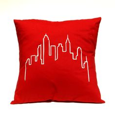 City Towers Pillow  by Linnea Swedish Design