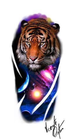 Colored Tattoo Design, Tiger Tattoo Design, Colour Tattoo, Tattoo Designs, Tattoo Sketches, Tattoo Drawings, Japanese Tattoos For Men, Hannya Mask Tattoo, Tattoo Studio