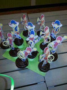 Rock climbing cupcakes!