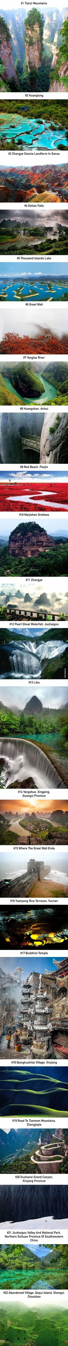 22 Reasons Why You Should Visit China - 9GAG More