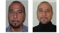 Before and after views of a male patient who underwent a septoplasty procedure with Dr. Bennett.
