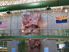 Climbing Wall at Freestone Recreation Center