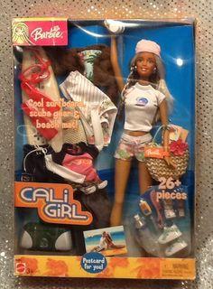 2003 CALI GIRL SO CAL STYLE SCUBA BEACH SET BARBIE MATTEL G4453 MINT NRFB #Mattel