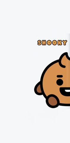 #babyshooky Cute Wallpaper For Phone, Bts Wallpaper, Bullet Journal Banner, Bts Aesthetic Pictures, Album Bts, Bts Backgrounds, Bts Drawings, Bts Chibi, Cute Cartoon Wallpapers
