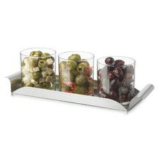 Modern 4 Piece Bar Condiment Set