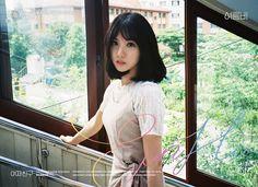 Eunha is so pretty and love her hair Kpop Girl Groups, Korean Girl Groups, Kpop Girls, Gfriend Album, Gfriend Profile, Jung Eun Bi, Gfriend Sowon, Cloud Dancer, Summer Rain