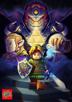 Can't decide if I should pin this to my LEGO board, or my Zelda board! TOO AWESOME