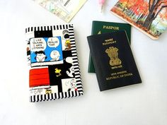 Your place to buy and sell all things handmade Passport Card, Passport Cover, Handmade Shop, Handmade Gifts, Etsy Handmade, Snoopy Comics, Travel Gifts, Wallets For Women, Card Holder