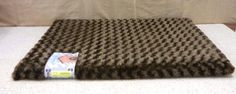 "Pooch Pen Orthopedic Pet Bed 35""x 22"" Brown #PoochPen"