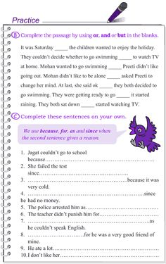 Grade 4 Grammar Lesson 13 Conjunctions (3) Practice English Grammar, English Grammar Worksheets, Learn English Words, Grammar Lessons, English Language Learning, Writing Lessons, English Lessons, English Vocabulary, French Lessons