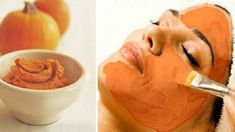 σπιτική μάσκα προσώπου με κολοκύθα Pumpkin Oatmeal, Diy Pumpkin, Canned Pumpkin, Pumpkin Facial Mask, Facial Masks, Pumpkin Faces, Body Wraps, Spa Treatments, Skin Brightening