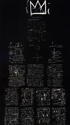 Tuxedo  - Jean-Michel Basquiat// Exquisite! Love Basquiat...such a genius gone from us too soon -kws