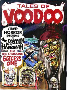 Top 20 Tales of Voodoo Covers | The Theatre of Terror