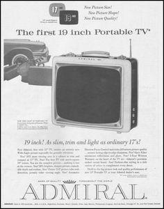 ADMIRAL, 1960.